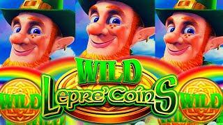 MORE RAINBOWS PLEASE! ⋆ Slots ⋆ WILD LEPRE'COINS GOLD RESERVE Slot Machine (Aristocrat Gaming)