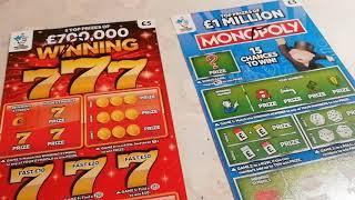 A Cracker of a Game....MONOPOLY...WINNING 777...FULL of 500's..CASH BLAST..LUXURY LINES..
