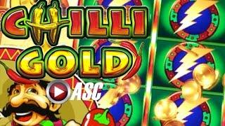 •FIRST ATTEMPT!• CHILLI GOLD (INCREDIBLE TECHNOLOGIES) | Slot Machine Bonus