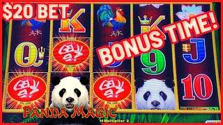 ★ Slots ★Dragon Link Panda Magic ★ Slots ★HIGH LIMIT $20 Bonus Round ★ Slots ★Slot Machine Casino ★