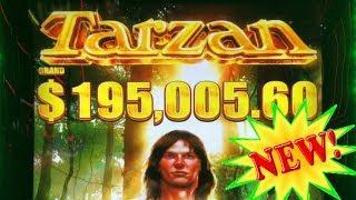 NEW TARZAN GRAND Slot Machine •Slot Queen battles to a BONUS