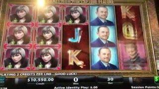 Black Widow Nice Bonus Round at $150 pull
