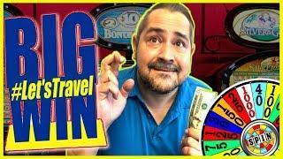 BIG WIN! #LetsTravel MAX BET BONUS + LIVE PLAY IN ARIZONA! | Slot Traveler
