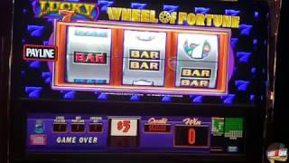 High Limit Wheel of Fortune Bonuses Galore at the Lucky Eagle Casino!