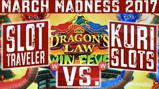 • March Madness 2017 • WEST Coast Round #1 | Dragons Law - Slot Machine Tournament