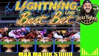 Lightning Link Best Bet HorseRace Slot Machine Major Jackpot Chase