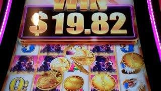 Buffalo Grand Slot Machine Bonus - 22 Free Games with Wheel Spin + Wild Multipliers - NICE WIN