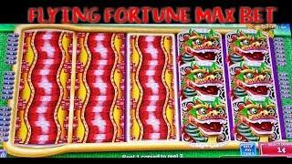 • FLYING FORTUNE • NUDGING WILDS | BOOSTED SLIDES & SPINS | MAX BET | SLOT MACHINE