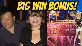 REX AND I TAKE ON SEX AND THE CITY! BIG WIN BONUS
