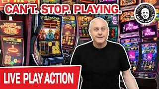 ★ Slots ★ LIVE Back at A REAL Casino ★ Slots ★ CAN'T. STOP. PLAYING. Huge Money on SLOTS