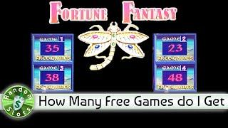 Fortune Fantasy slot machine, How Many Spins