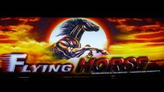 BIG WINS & PROGRESSIVE WIN ON FLYING HORSE SLOT MACHINE BY AINSWORTH