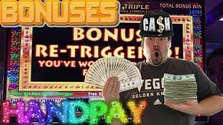 A Collection of Slot Machine Bonus Rounds and Huge Wins Vol. 16