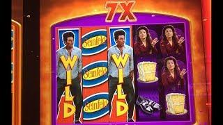 Seinfeld Slot Machine Was ON FIRE - 20 Features!!