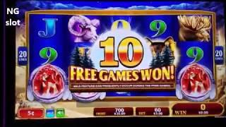 Golden Wolves Slot Machine and Wings Of The Phoenix Slot Machine Bonuses !!! Konami Slot Live Play