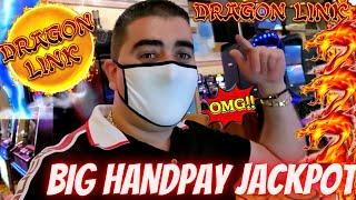 High Limit Dragon Link Slot Machine BIG HANDPAY JACKPOT | Genghis Khan Dragon Link Handpay Jackpot