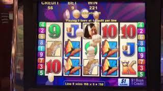 Brazil Slot Machine -- Nice Bonus Round Free Games Win at $9 per pull