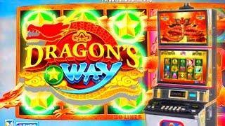 Dragon's Way Slot Machine | Great Bonus Win | Awesome Line Hits | Ryan Plays Slots