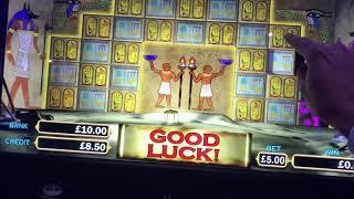 """Pharaohs Fortune """"original"""" £5 max bet bonus"""