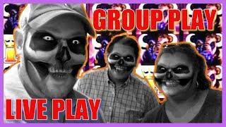 Max Bet Group Play on Buffalo Max!   Slot Bonus wins + Live Play Slot Machines