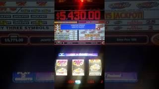 Quick Hits Jackpot $5,430.00 @ Bellagio, Las Vegas