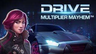 NetEnt Drive: Multiplier Mayhem Slot | Freespins 2,40€ BET | SUPER BIG WIN!