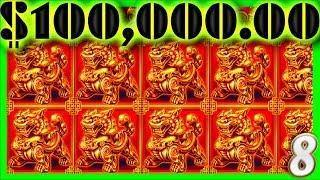 $100,000.00 in MASSIVE SLOT MACHINE 1/2 JACKPOT WINS •8• W/ SDGuy1234