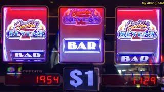 Happy New Year•Big Win• Smokin Sevens• San Manuel Casino, 赤富士スロット, カリフォルニア カジノ