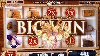 TITANIC Slot Machine - I've Booked 2nd Class Passage!