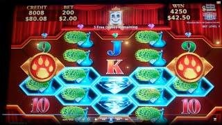 Jungle Fury Slot Machine Bonus - MAX BET - Mirror Reels Feature - 10 Free Games, Nice Win (#2)