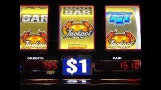 JACKPOT LIVE Blazin' GEMS Slot Bet $18•Triple Double Stars $1 Slot & Triple GEMS $1 Slot, Pechanga