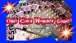 It's..Instant £500 Scratchcard.....     One Card Wonder.....nightly game..mmmmmmMMM..says ★ Slots ★