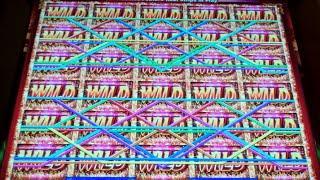 Jumbo Wilds Slot Machine Bonus + Retriggers - 18 Free Games with Expanding Reels - BIG WIN