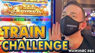 ALL ABOARD vs CASH EXPRESS ⋆ Slots ⋆ TRAIN CHALLENGE....Choo Choo!!!