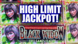 HIGH LIMIT BETS ON BLACK WIDOW★ Slots ★ JACKPOT HAND PAY ★ Slots ★ BIG SLOT MACHINE WINS!
