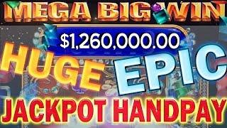 •$1,260,000.00 Million Dollar Video Slot BONUS Win Jackpot Handpay Flower Star Power | SiX Slot • Si