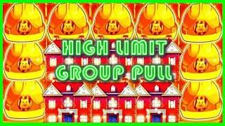 • HIGH LIMIT • Group Pull on Huff N' Puff • MASSIVE WINNING BONUS