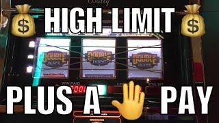•NEW•High Limit Slot Play/Live Play & Handpay Jackpot•BIG WIN•