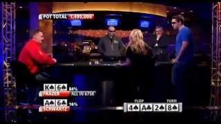Luke Schwartz EXPLODES!!! - Premier League Poker