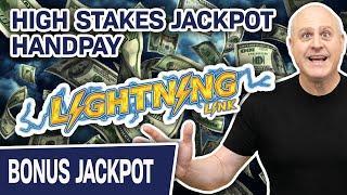 ⋆ Slots ⋆ Lightning Link: High Stakes JACKPOT HANDPAY ⋆ Slots ⋆ BIG SLOT SPINS from Caesars Vegas