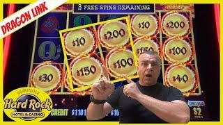 ⋆ Slots ⋆All NEW Dragon Link High Limit Hardrock Tampa⋆ Slots ⋆