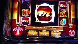 Ainsworth Dollar Denom $1 Dollaroo Free Spin Bonus $5 bet