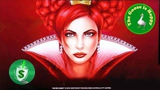 •++NEW The Red Queen slot machine, 3 sessions, Happy Goose