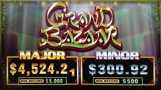 FINALLY A GREAT WIN on GRAND BAZAAR SLOT POKIE MACHINE by Ainsworth - PALA CASINO