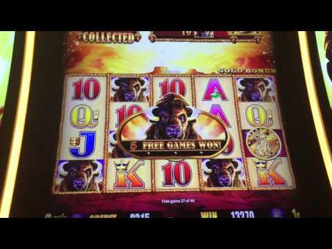 ** BIG WIN ** Buffalo Gold ** 61 Games ** SLOT LOVER **