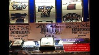 Wonderful Win•Again•Again•Again•Triple Double Stars $1 Slot @Pechanga Resort & Casino 赤富士スロット, 勝利