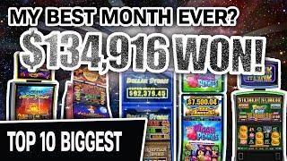 ⋆ Slots ⋆ $134,916: My MOST PROFITABLE MONTH EVER Playing HIGH-LIMIT SLOTS? ⋆ Slots ⋆ May Compilation!