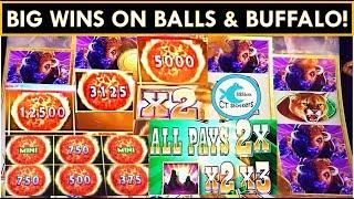 1st SPIN BONUS AND THE WINS DON'T STOP! ULTIMATE FIRELINK SLOT MACHINE & BUFFALO DIAMOND!