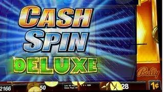 "NEW GAME!! *CASH SPIN DELUXE*Free spins By ""SIN CITY DIABLOS"" & MAX BET QH 25 FREE SPINS AT 3X"