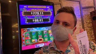 JACKPOT HANDPAY ON FREE PLAY! ⋆ Slots ⋆LIVE FROM HARD ROCK TAMPA CASINO! $500 live!